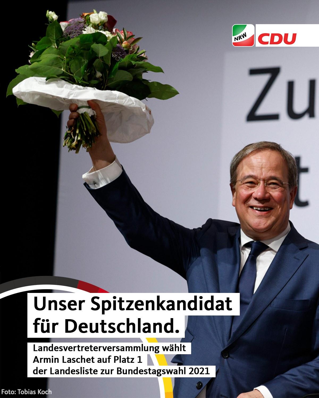 Armin Laschet - Spitzenkandidat der CDU in Nordrhein-Westfalen