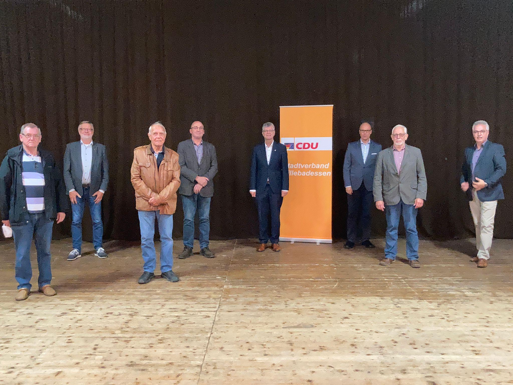 Ehrung langjähriger Mitglieder der CDU Willebadessen